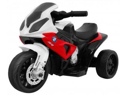 Dětská elektrická motorka BMW S1000RR červená