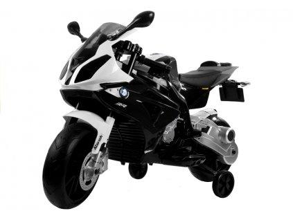 Dětská výkonná elektrická motorka BMW S1000 černá