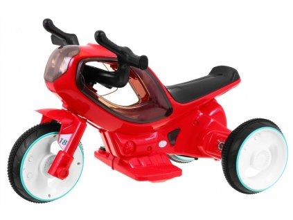Dětská motorka červená