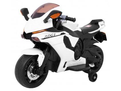 Dětská elektrická motorka R1 Superbike bílá