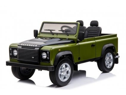Dětské elektrické autíčko Land Rover DEFENDER zelený