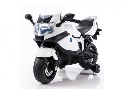Dětská elektrická motorka LB9909 bílá