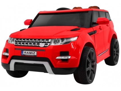 Elektrické autíčko Maxi Range červený