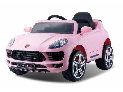 Elektrické autíčko Cornet-S růžový