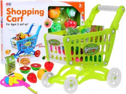 Nákupní košík + dětské potraviny 2v1
