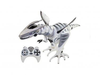 Dinosaurus na dálkové ovládání šedý