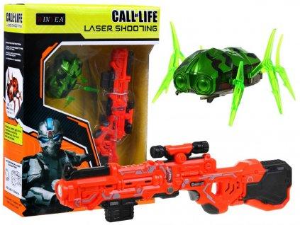 mini pistolka nanorobot zeleny W7003OG 1