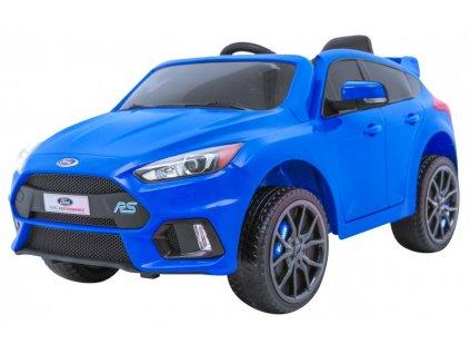 Elektrické autíčko Ford Focus RS modré