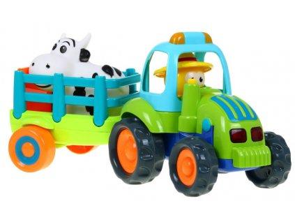 traktor s vleckou Farmer 777 14 1