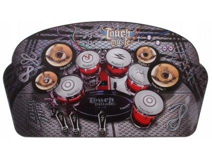 Hudební hrací podložka bubínky