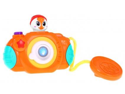 Interaktivní fotoaparát se zvuky pro nejmenší, Huile Toys1