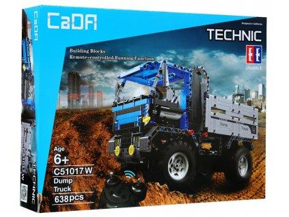 Stavebnice Technic na dálkové ovládání model Tatra náklaďák1