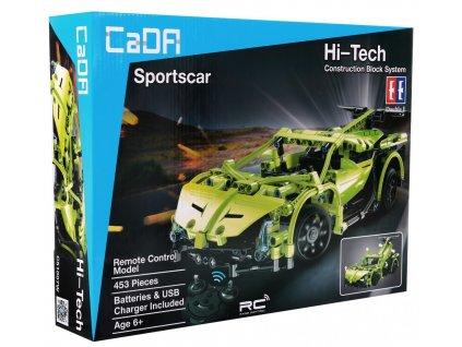 Stavebnice technic sportovní auto na dálkové ovládání1