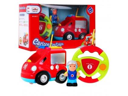 Dětské hasičské autíčko na dálkové ovládání