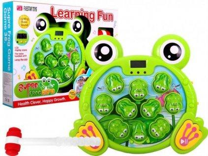 Plácni žábu - zábavní hra