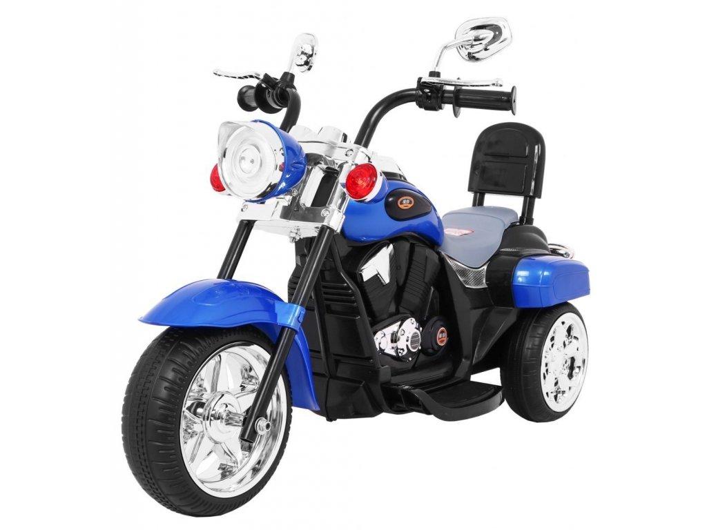 Motorek Chopper NightBike Niebieski [34725] 1200