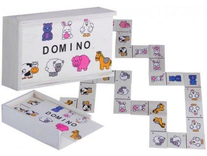 dřevěné domino se zvířátky 6