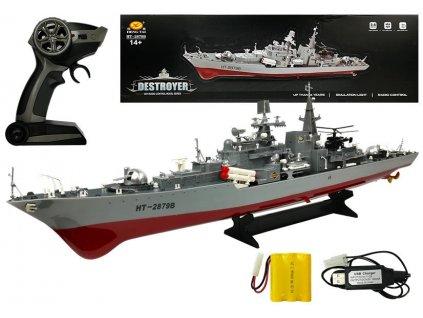 loď na dálkové ovládání RC Destroyer (2)