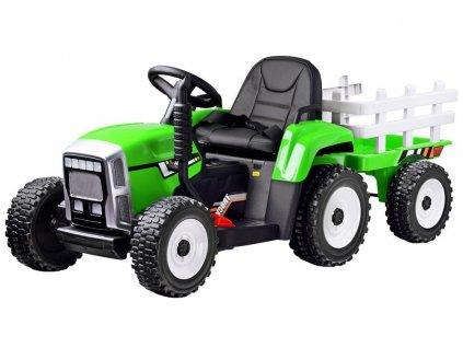 elektrický traktor s vlečkou (1)