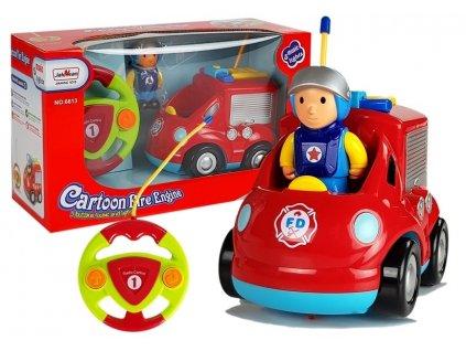Auto na dálkové ovládání hasiči