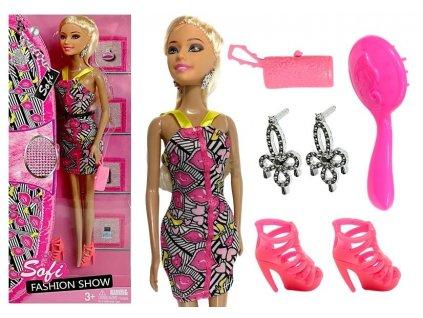 Panenka modelka Sofi s doplňky