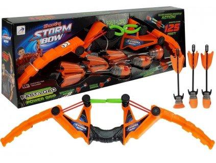 dětský luk storm bow oranžový (2)