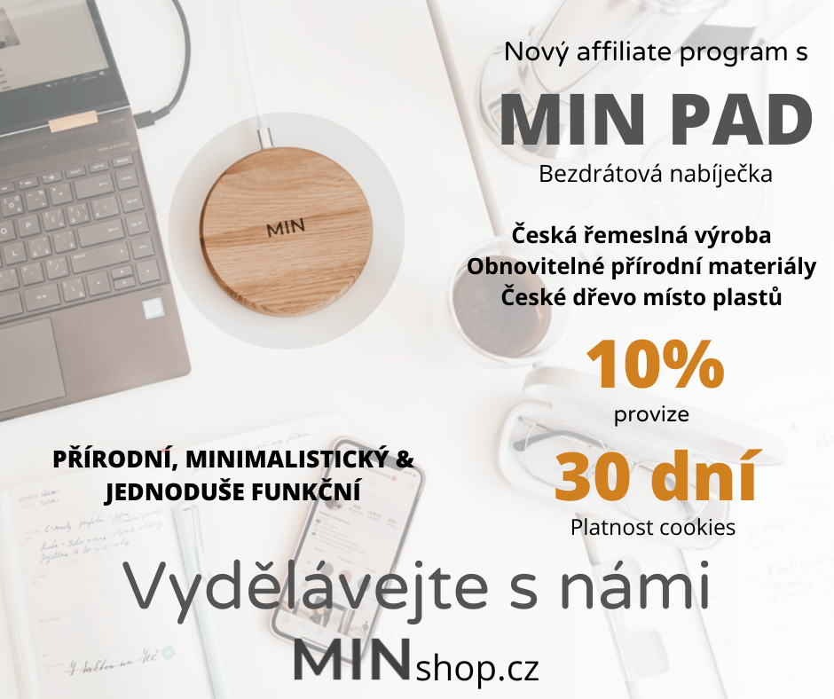 Nový affiliate program s MINshopcz