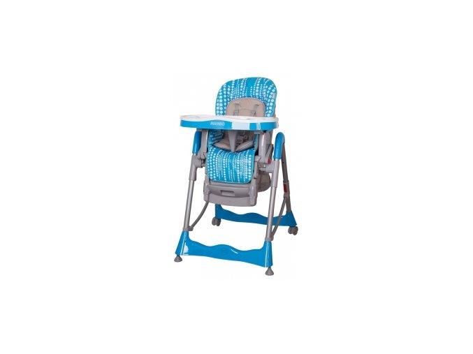 Jídelní židlička tyrkys coto Mambo blue
