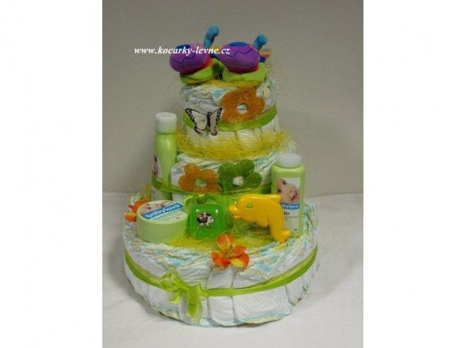 Plenkový dort III.patrový č.1