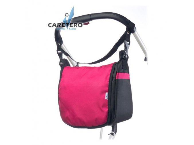 Taška na kočárek  lux růžová