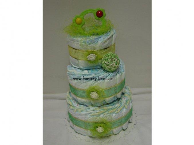 Plenkový  dort III patrový č.3