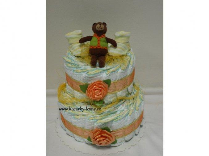 Plenkový dort II patrový č.7