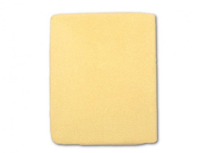 Nepromokavé prostěradlo žluté