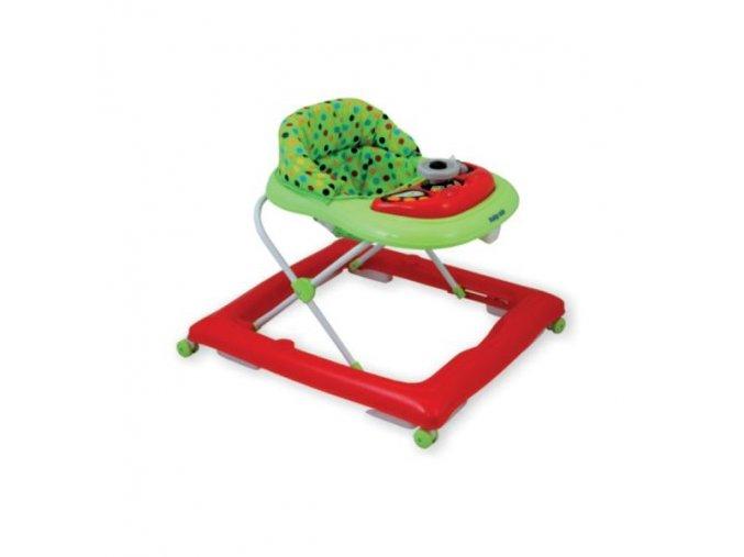 Dětské chodítko Baby mix red-green