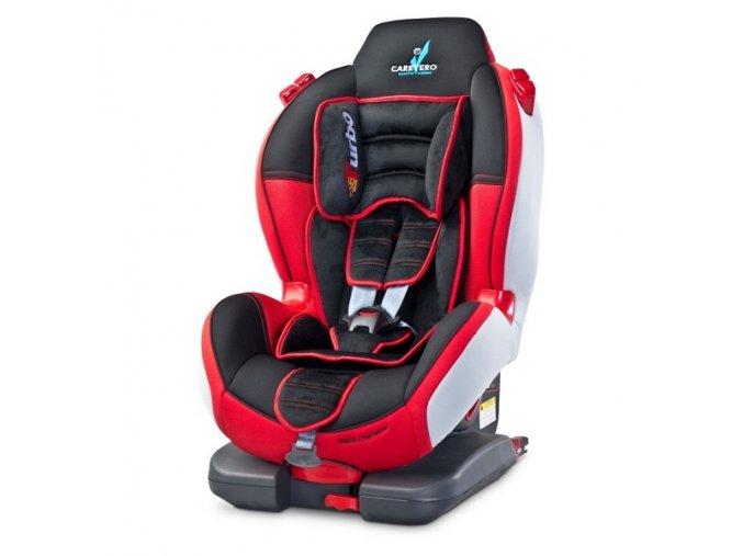 Autosedačka Turbo sport 9-25kg (červená)