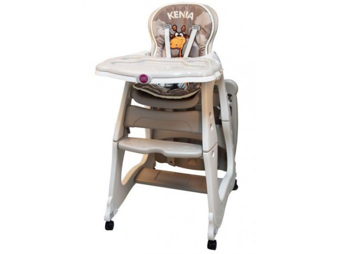 Jídelní židlička Kenia béžová