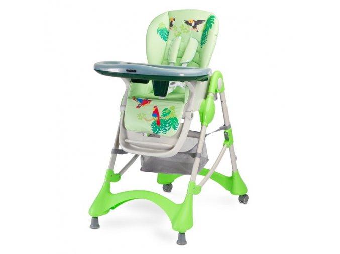 Jidelní židlička Magnus New green