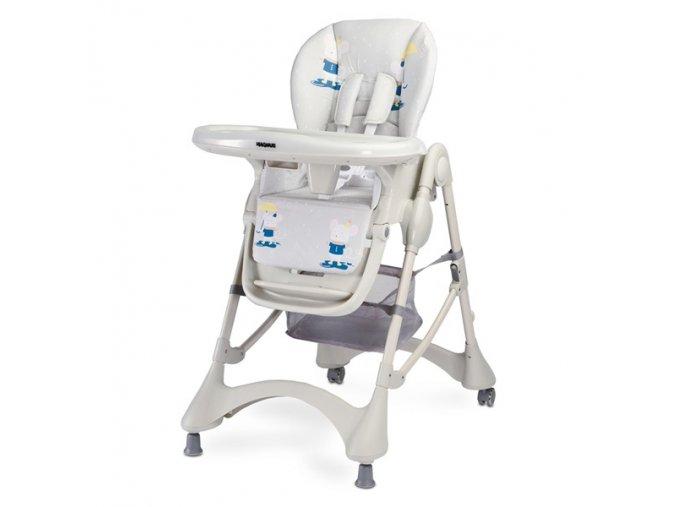 Jidelní židlička Magnus New grey
