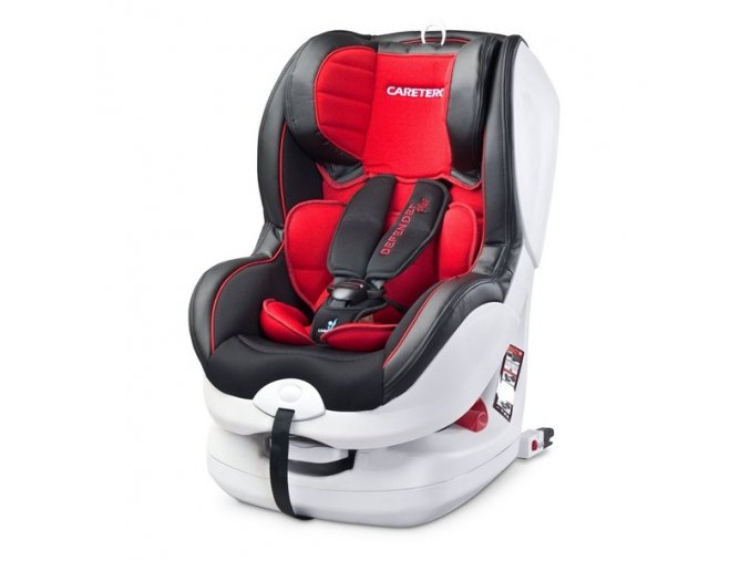 Autosedačka Caretero Defender Plus 0-18 kg s isofixem red