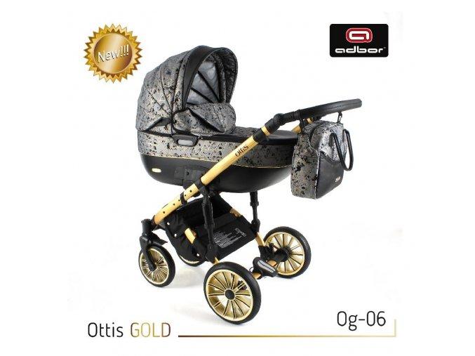 Kočárek Ottis Gold 06 3v1