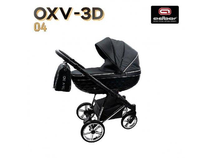 Kočárek OXV-3D / 4 3v1