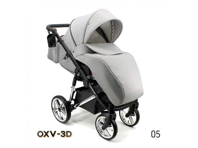 Kočárek OXV-3D / 5 3v1