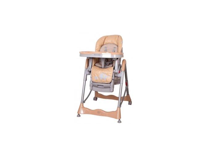 Jídelní židlička Sloníci coto Mambo béžová