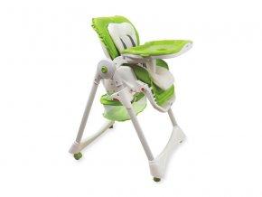 Jídelní židlička Baby mix zelená