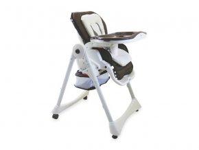 Jídelní židlička Baby mix hnědá