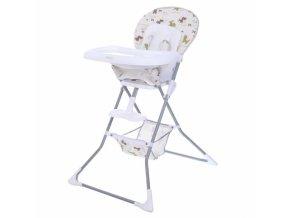 Jídelní židlička Ace Eco Toys-béžová