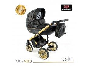 Set kočárku Ottis Gold 01