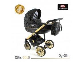 Set kočárku Ottis Gold 03