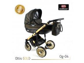 Set kočárku Ottis Gold 04