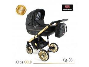 Kočárek  Ottis Gold 05 3v1